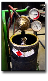 Acetylene is dangerous because it is unstable and unstable